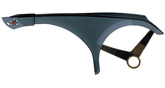 Hebie Kettenschutz 1-flügelig verstellbar transparent